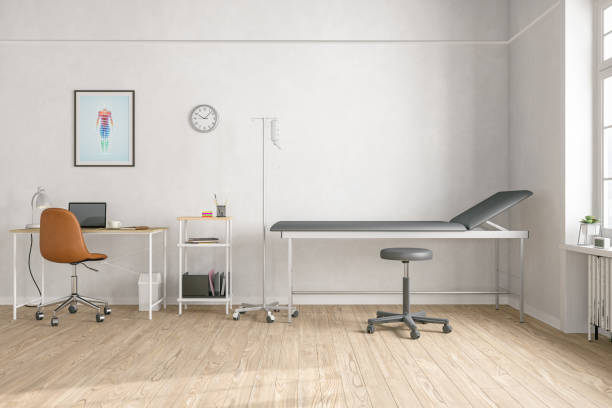 empty doctor's office - doctors office stock pictures, royalty-free photos & images
