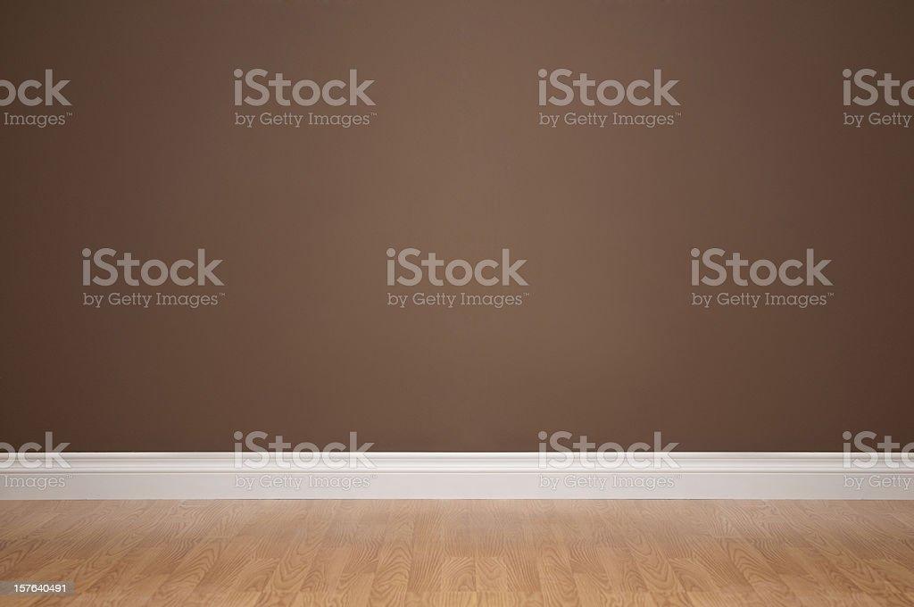 Empty Domestic Room stock photo