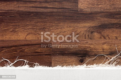 istock Empty drawing canvas frame background 686536356