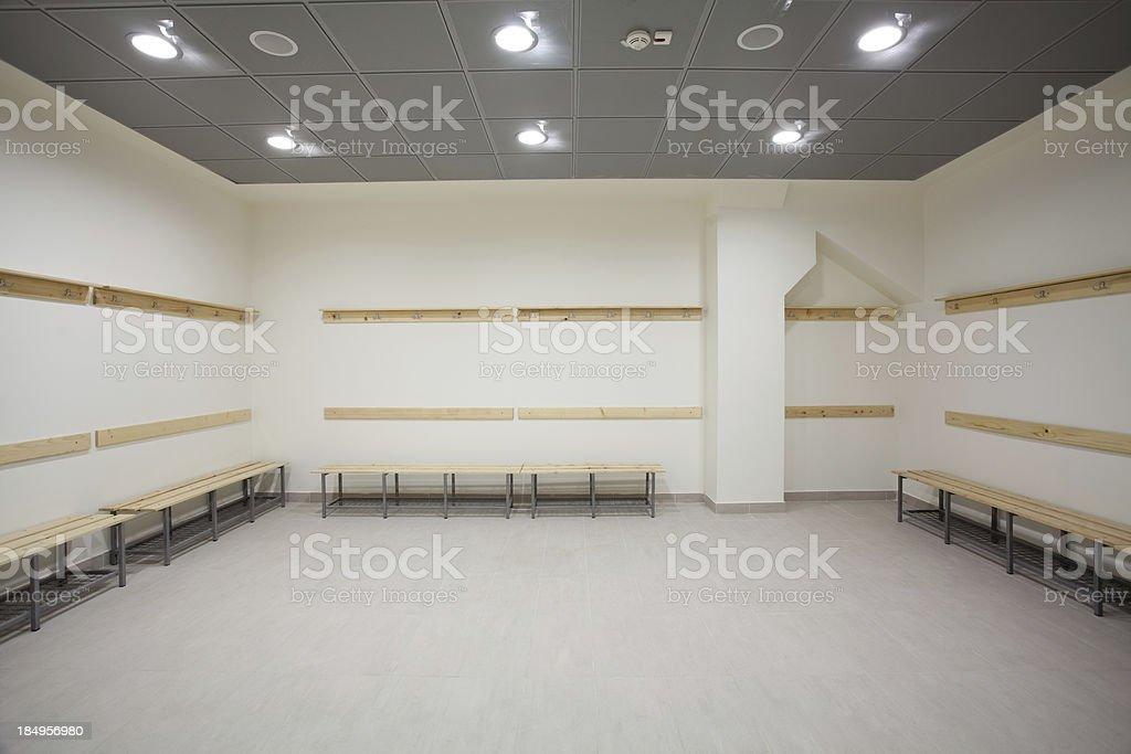 Empty dressing room royalty-free stock photo