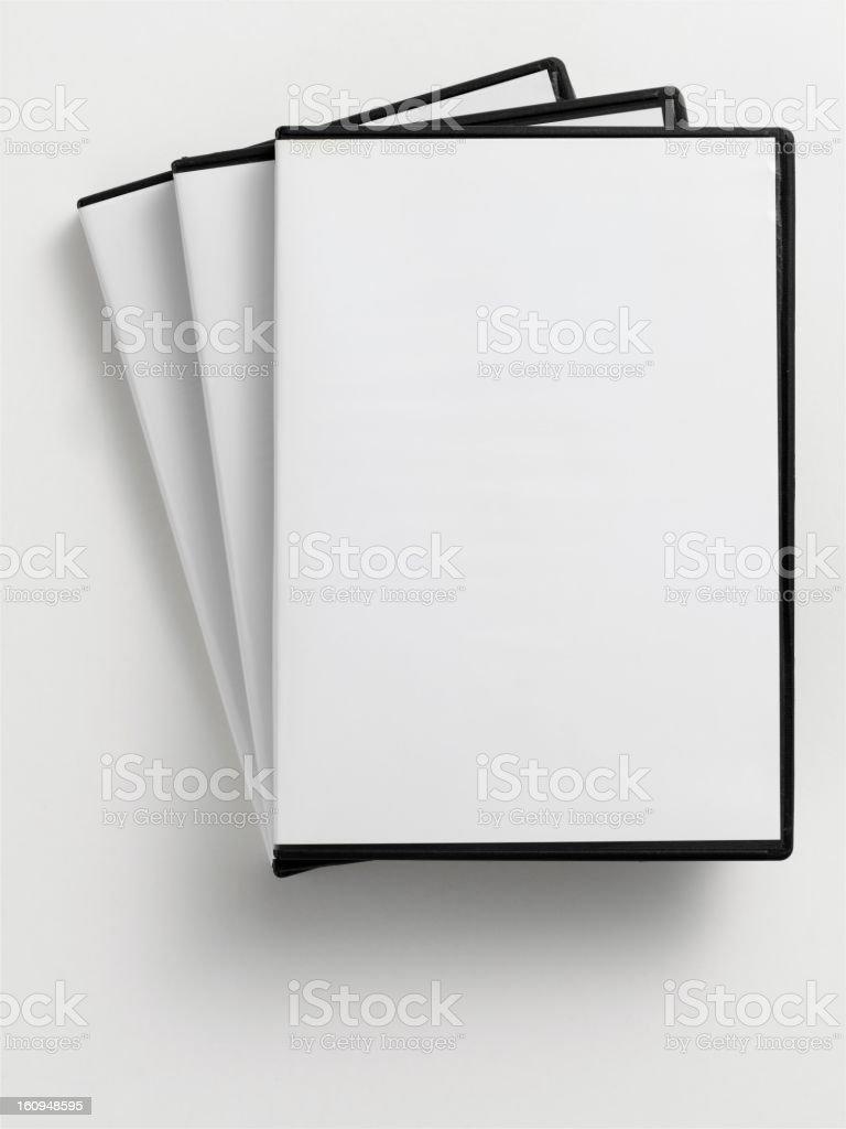 empty DVD case royalty-free stock photo