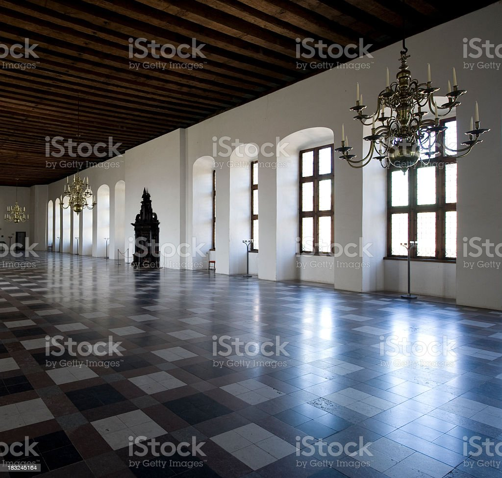 Empty Elegance stock photo