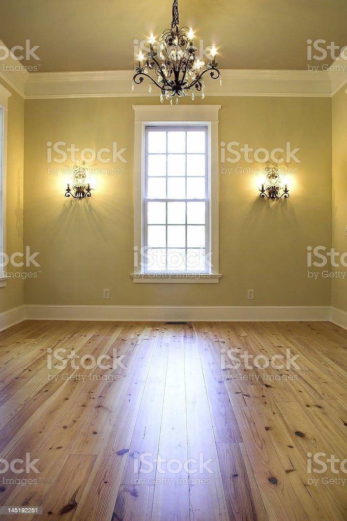 empty elegant room royalty-free stock photo