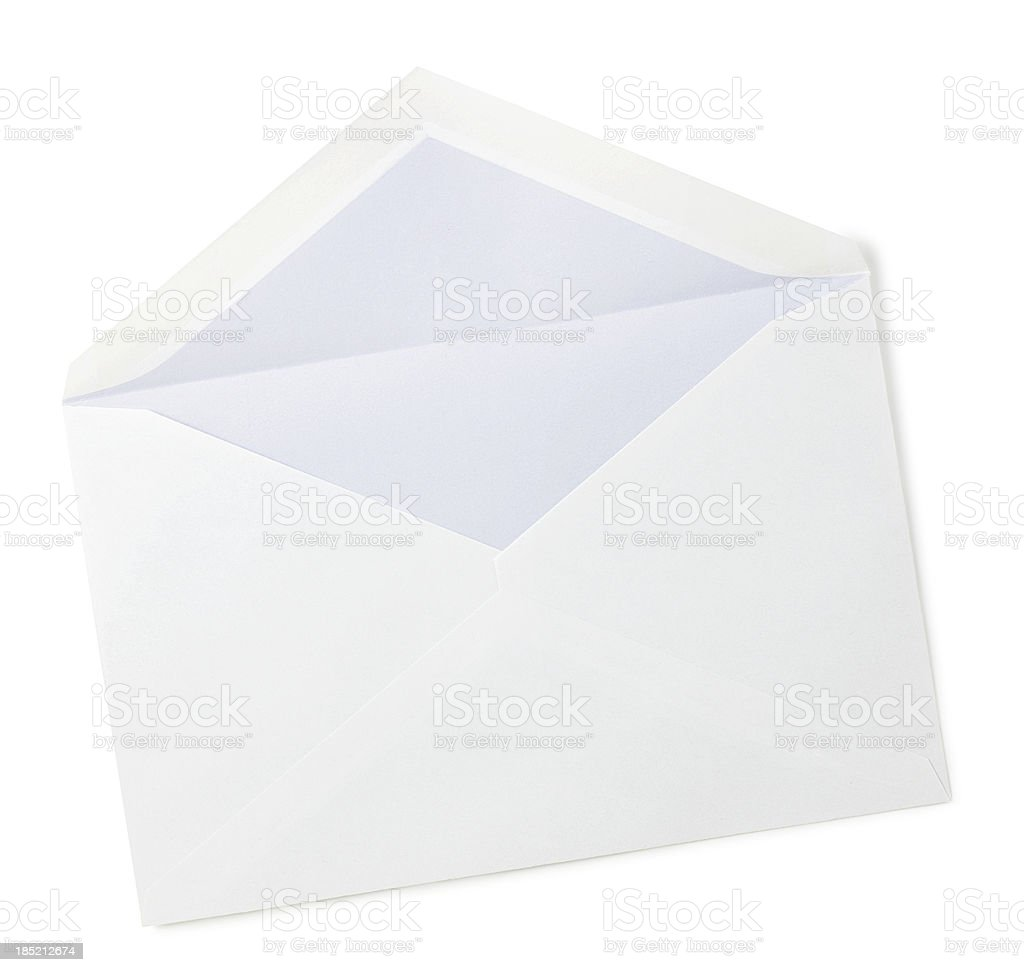 empty envelope stock photo