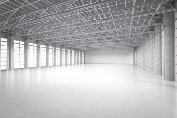 leere Fabrik innen – Foto