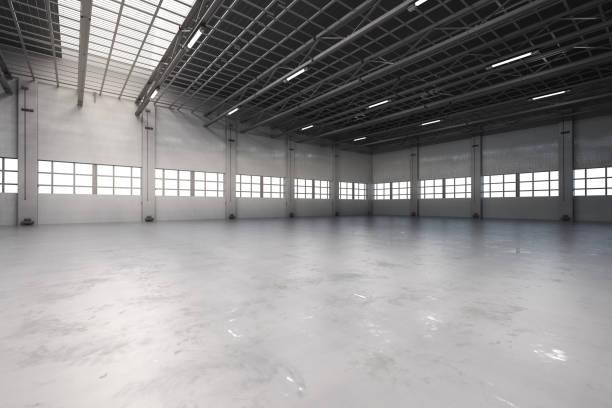 leere fabrik innen - eingangshalle wohngebäude innenansicht stock-fotos und bilder