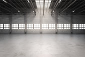 empty factory interior