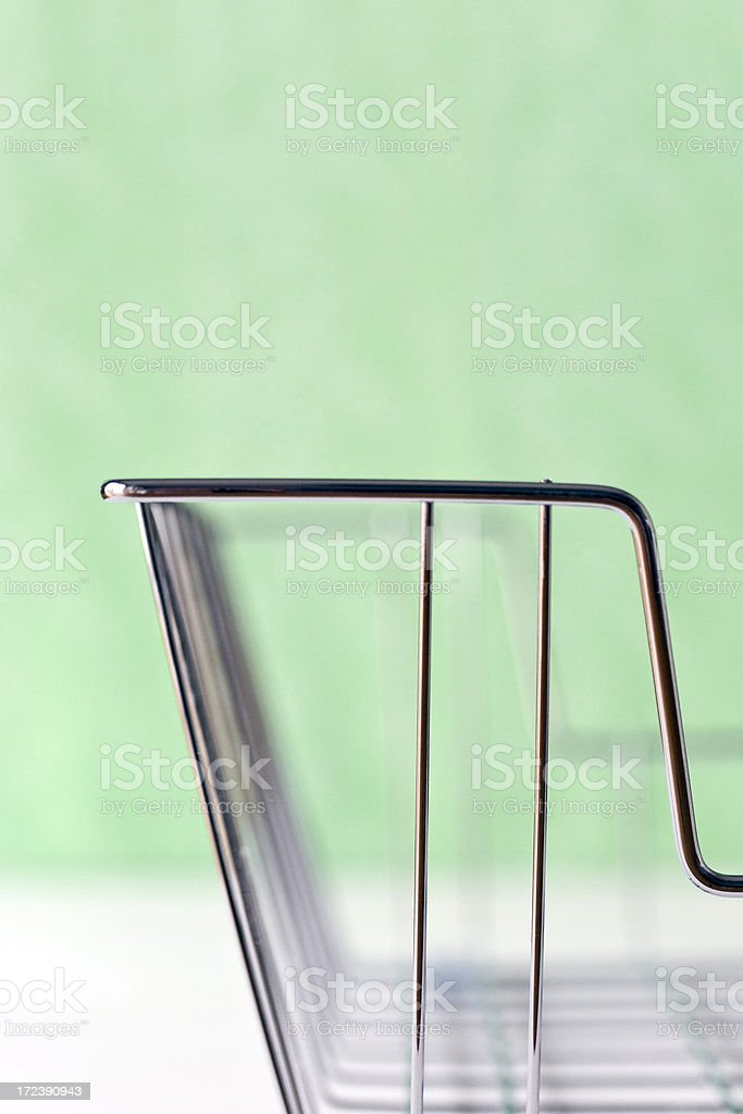 Empty File Basket royalty-free stock photo
