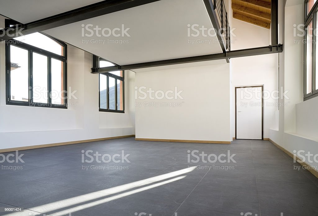 empty flat royalty-free stock photo