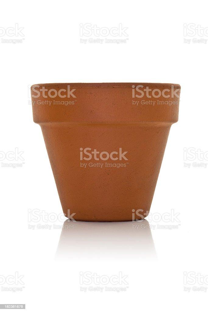 Empty Flower Pot royalty-free stock photo