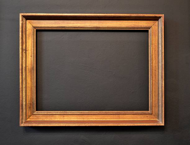 Empty frame stock photo
