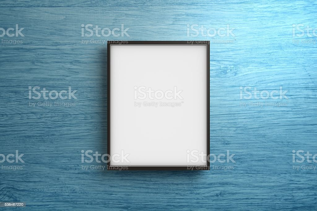 Empty Frame stock photo