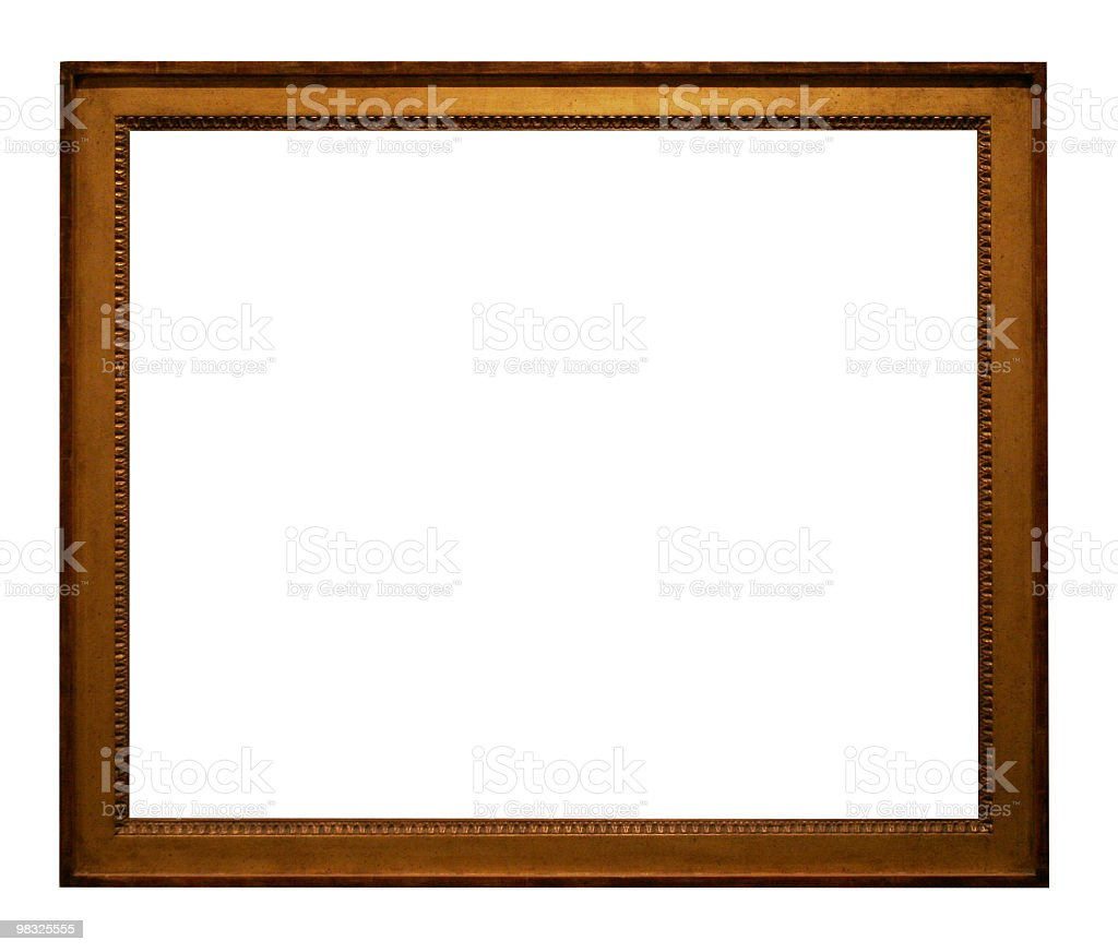 Empty Frame to put your design in royalty-free stock photo