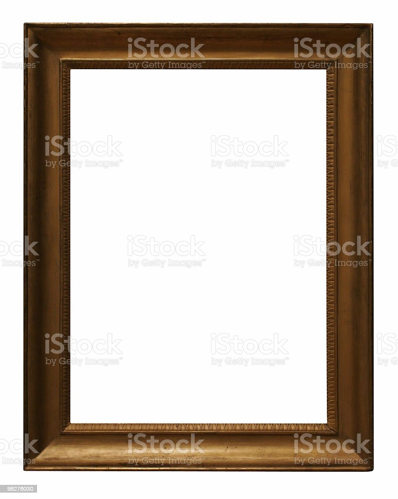 Empty frame to use in your design royalty-free stock photo
