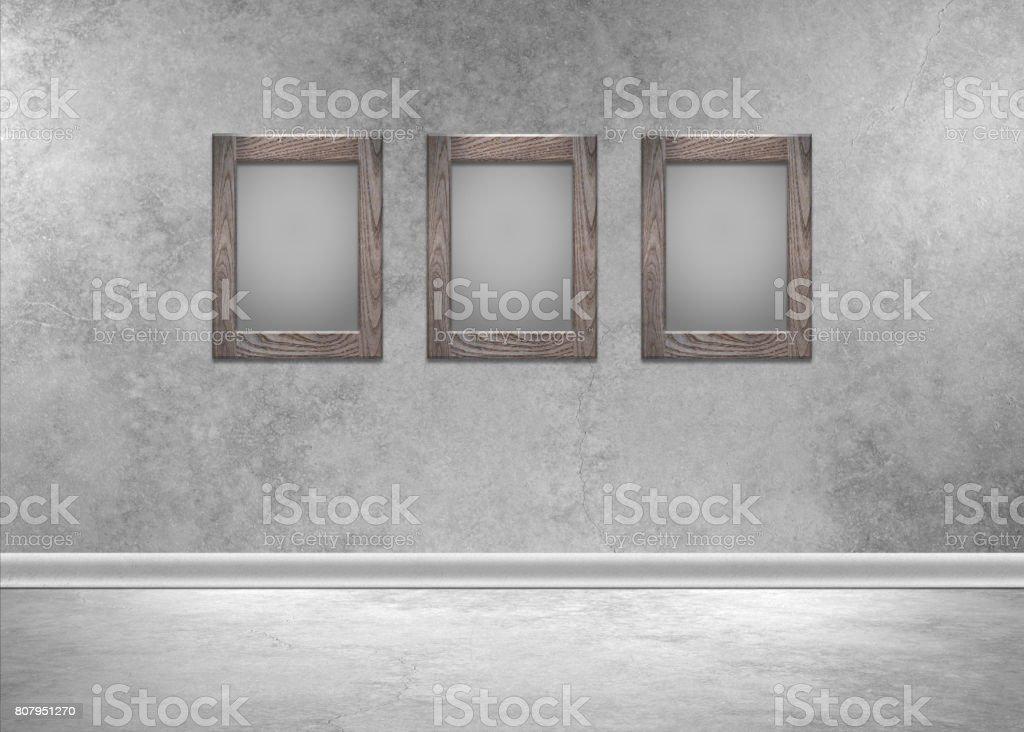 Empty Frames stock photo