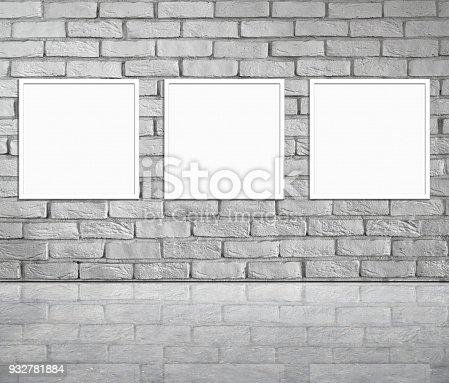 istock Empty Frames 932781884