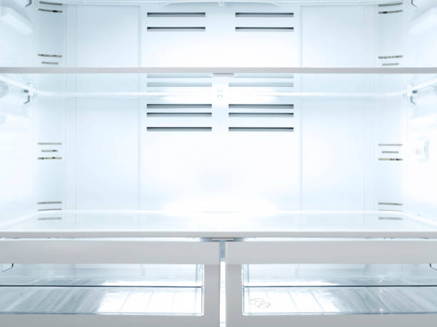 Empty Fridge, Inside Empty Fridge, Inside fridge stock pictures, royalty-free photos & images