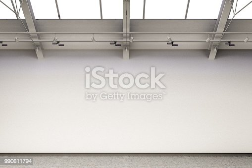 644237470istockphoto Empty gallery interior 990611794