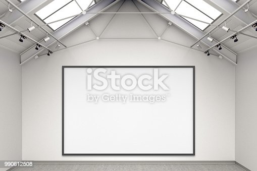 644237470istockphoto Empty gallery interior 990612508