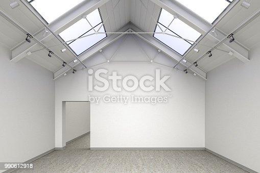 936286060 istock photo Empty gallery interior 990612918