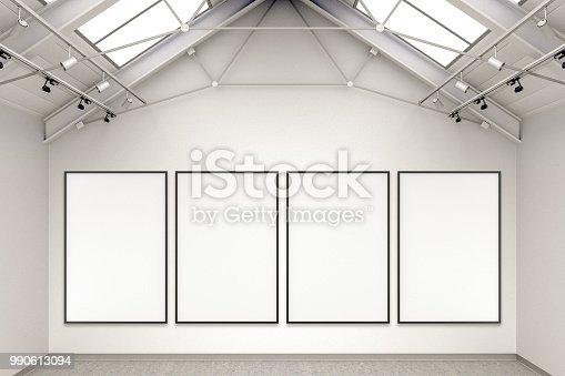 936286060 istock photo Empty gallery interior 990613094