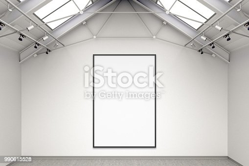 644237470istockphoto Empty gallery interior 990615528