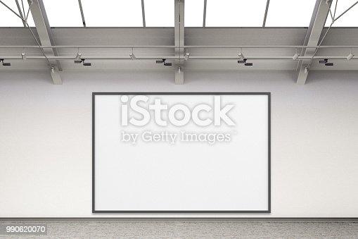 936286060 istock photo Empty gallery interior 990620070