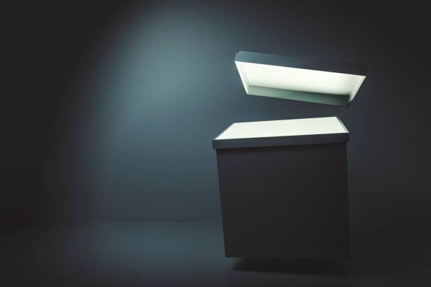 Leere Geschenk-box – Foto