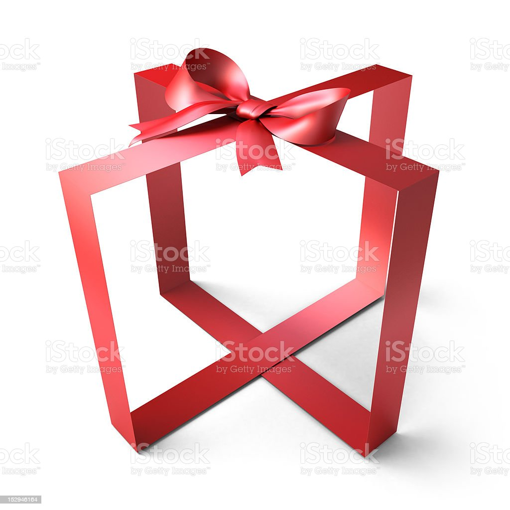 empty gift royalty-free stock photo
