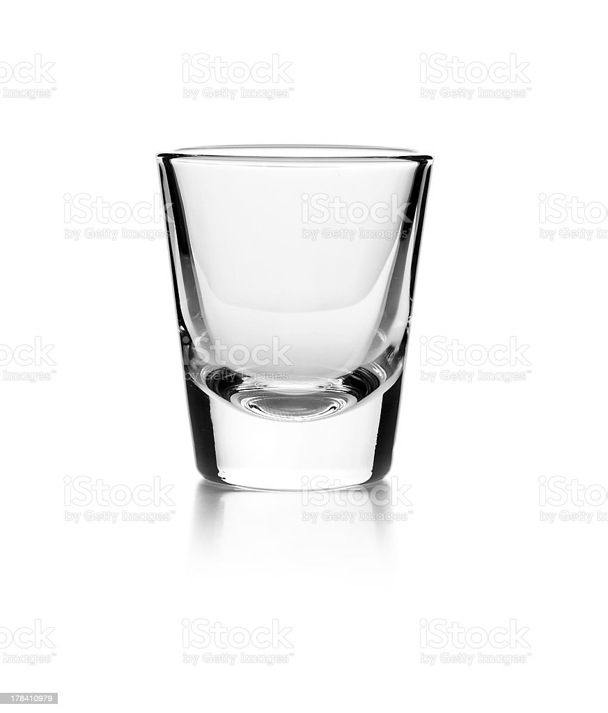 Empty glass stock photo