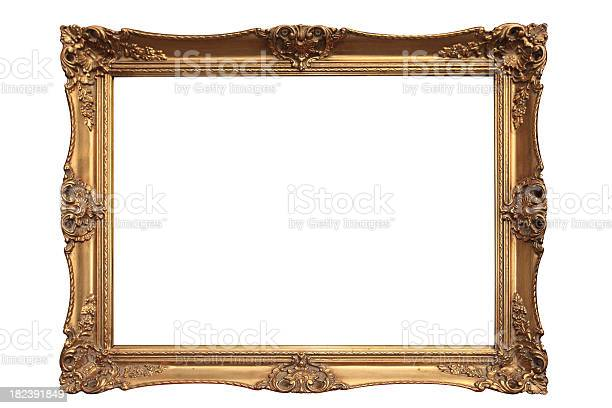 Empty gold ornate picture frame with white background picture id182391849?b=1&k=6&m=182391849&s=612x612&h=j pi npcvvktx4nvtgt7lmi1nwsfiyiqzjbdqwdybms=