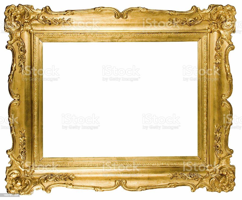 Cadre Vide photo de cadre vide golden - image libre de droit | istock