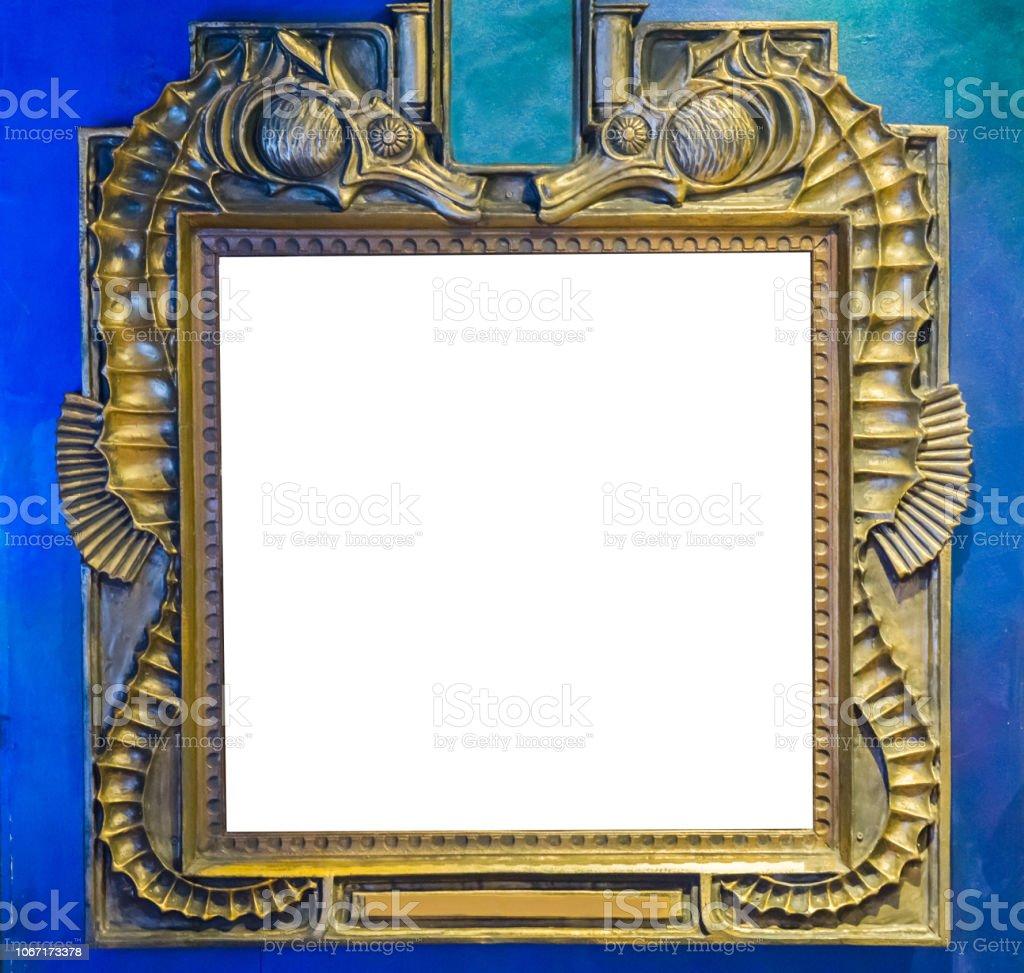 Image Pour Mettre Dans Un Cadre photo libre de droit de cadre vide de peinture ou miroir