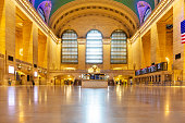 istock Empty Grand central station during the Covid-19 lockdown in NYC 1222856369