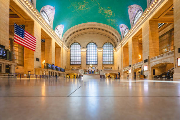 Empty Grand Central Station stock photo