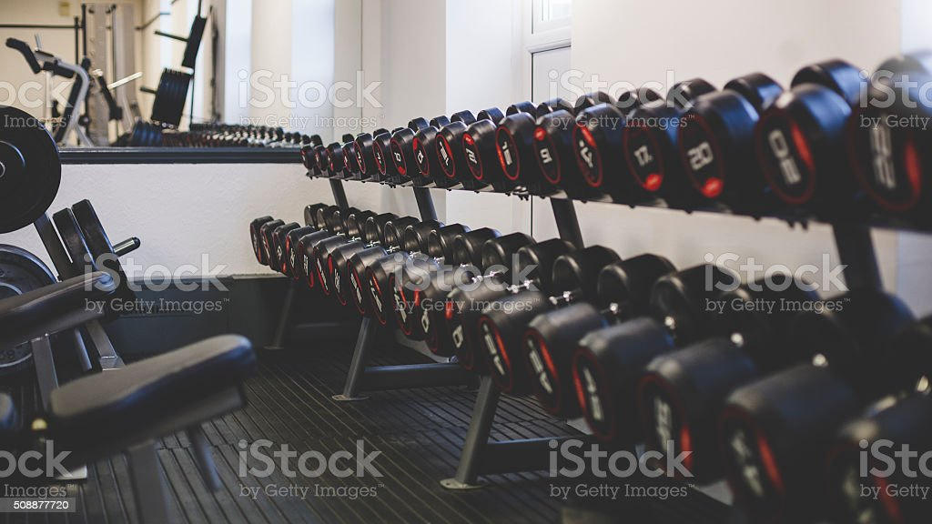 Room shot of an empty gym space.