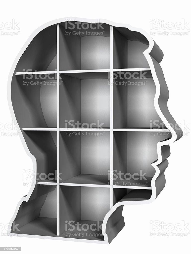 Empty Head royalty-free stock photo