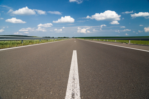 Empty Highway Stock Photo - Download Image Now