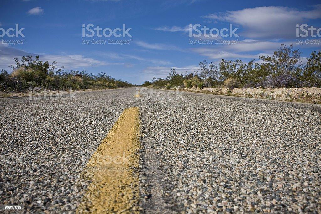 Empty Highway royalty-free stock photo