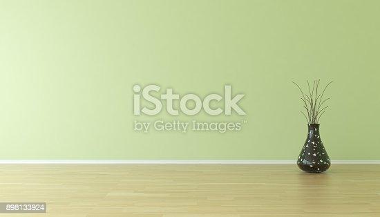 629801250istockphoto Empty Home Interior Background With Plant 898133924