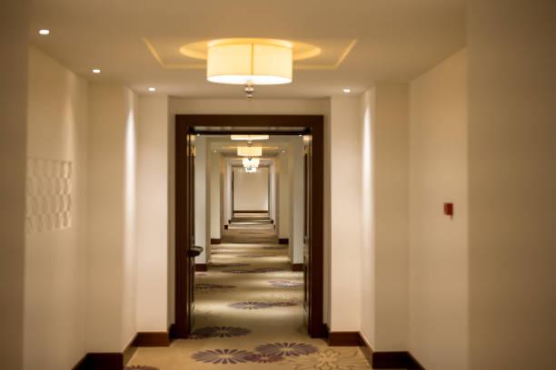 Leerer Hotelflur – Foto