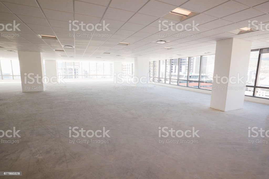 Empty Interior Of Modern Corporate Office royalty-free stock photo