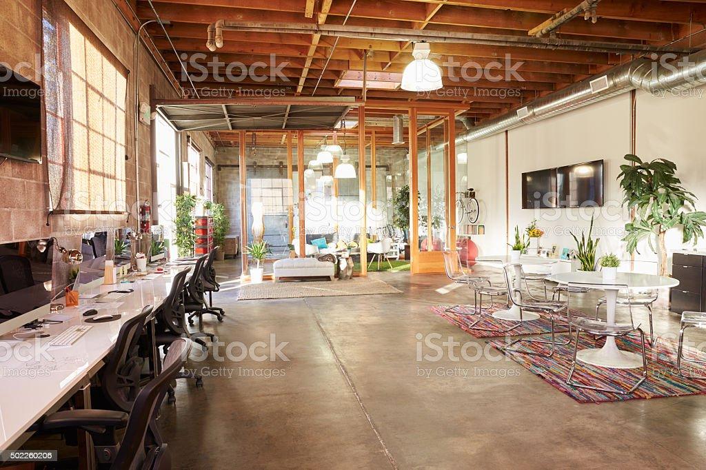 Vazio Interior de escritório moderno Design - foto de acervo