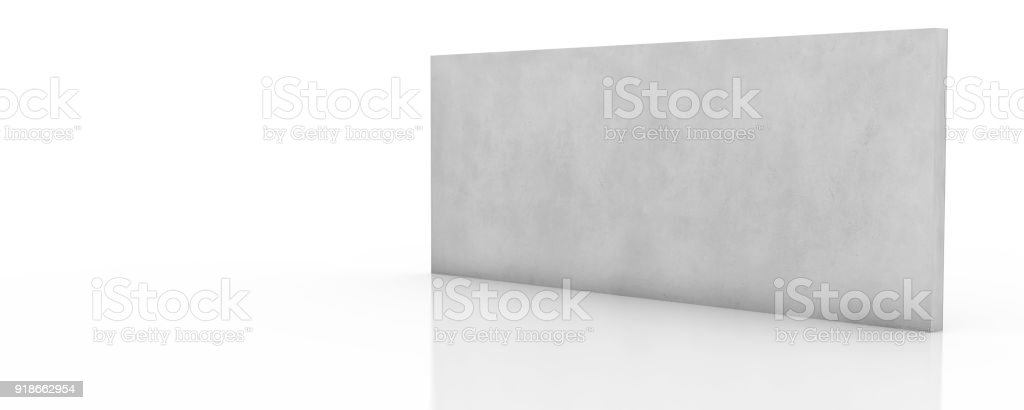Empty interiors with blank displays stock photo