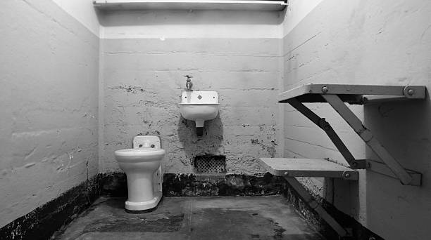 Leere Gefängniszelle – Foto