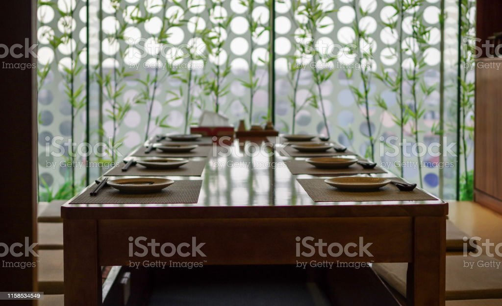 Asian restaurant and tableware