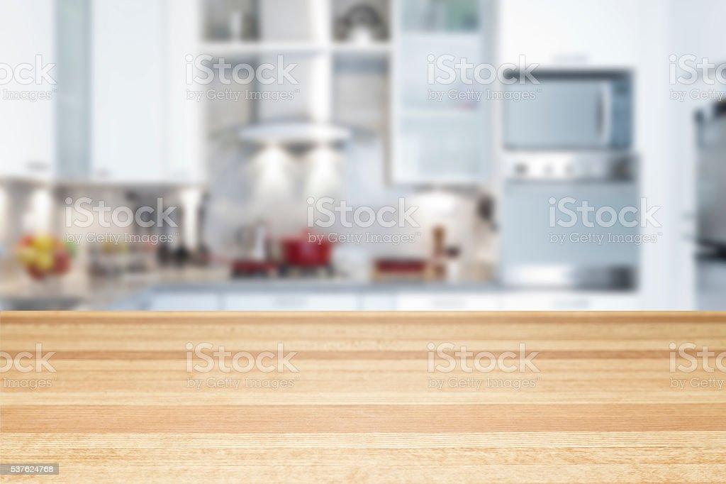 Leere Küche Arbeitsplatte - Stockfoto | iStock