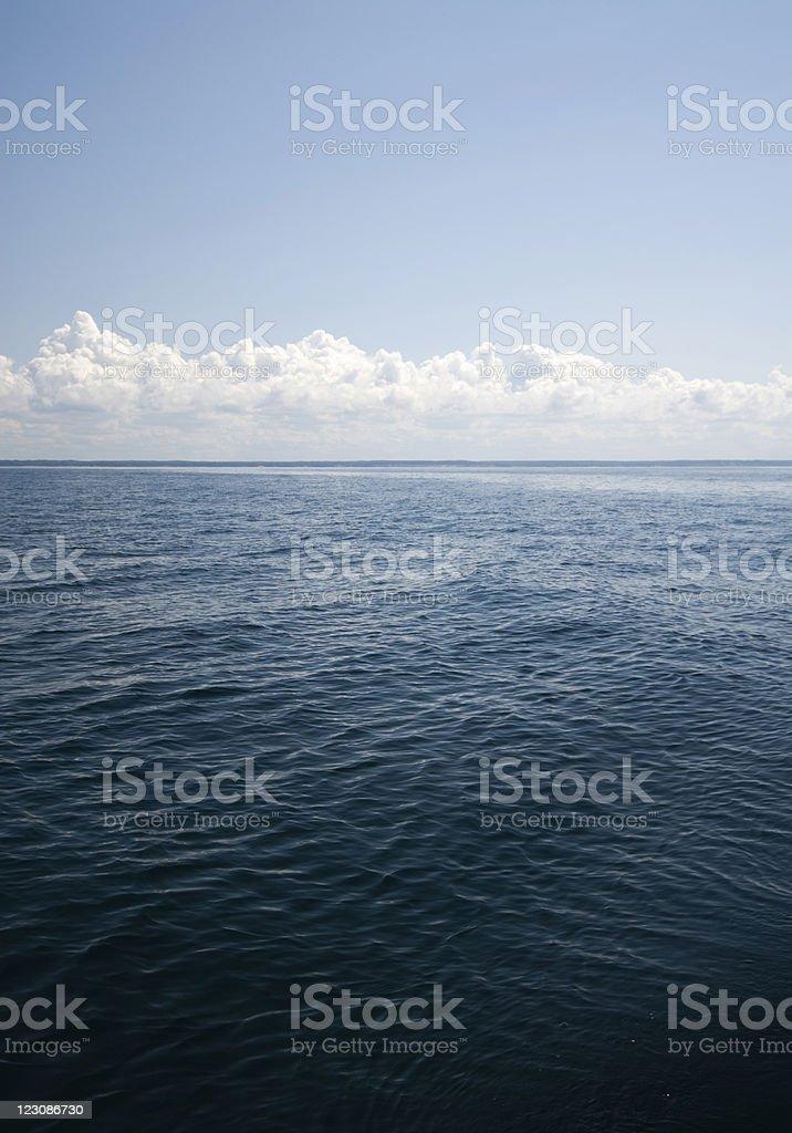 Empty Lake Michigan 2 royalty-free stock photo