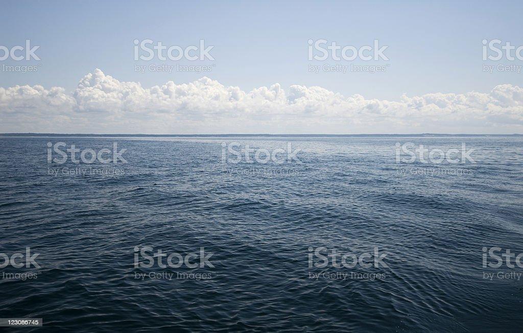Empty Lake Michigan royalty-free stock photo