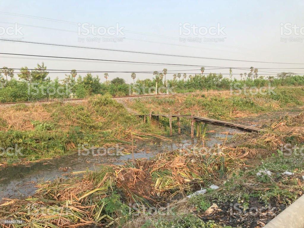 빈 땅 근처도 건설에 대 한 - 로열티 프리 0명 스톡 사진